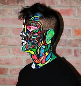 Referente artista SHAKA Marchal Mithouard, artista de Graffiti.